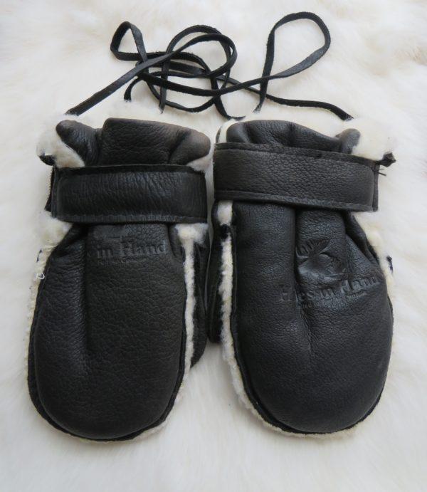 baby mits black
